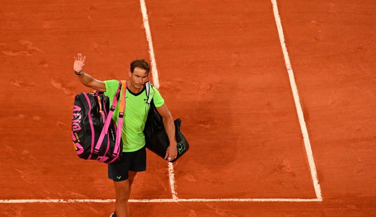 """Nadal, tras perder en Roland Garros: """"No sé si jugaré Wimbledon, ahora necesito un descanso"""""""