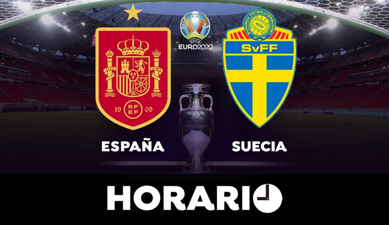 España - Suecia: Horario y dónde ver el partido de la Eurocopa 2021
