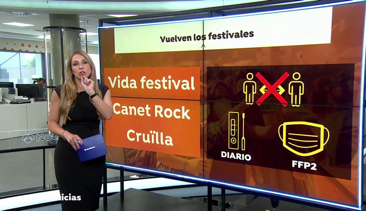 Vuelven los festivales de música y lo hacen con las siguientes medidas frente al coronavirus