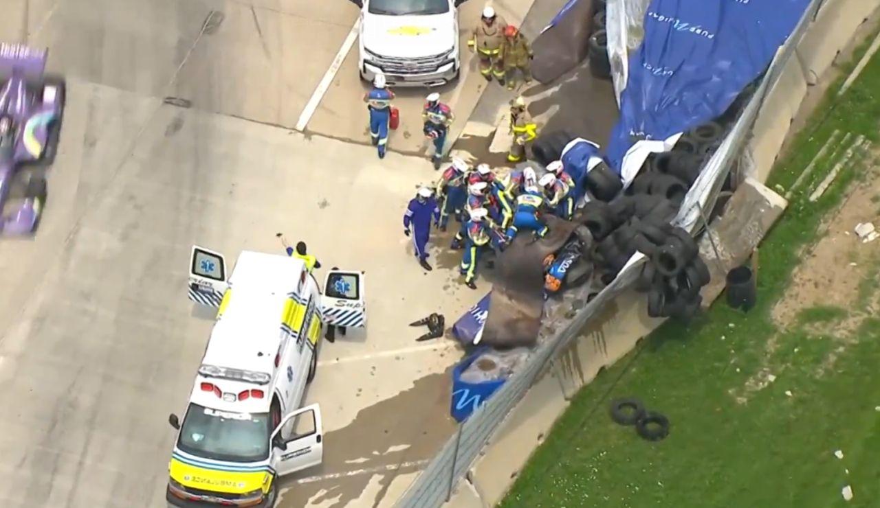 Grave accidente en la Indycar