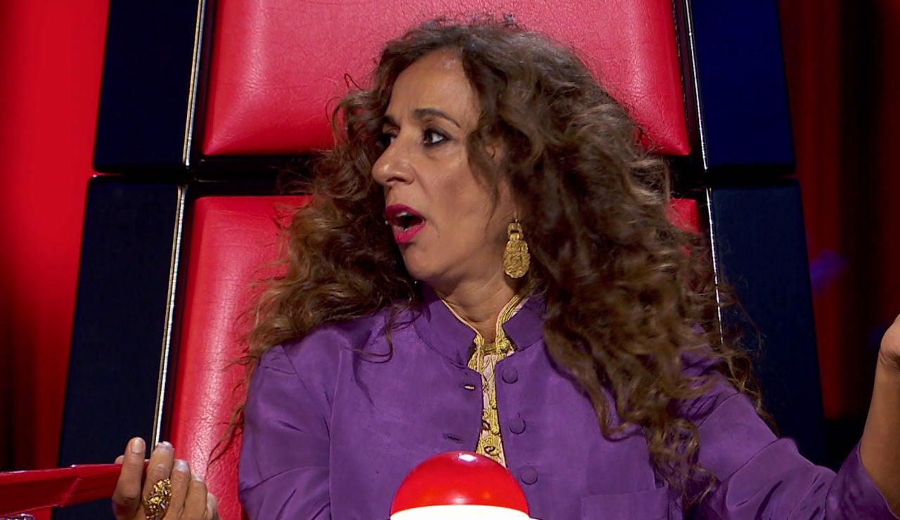 El enfado de Rosario con el público tras la actuación de un talent en 'La Voz Kids'