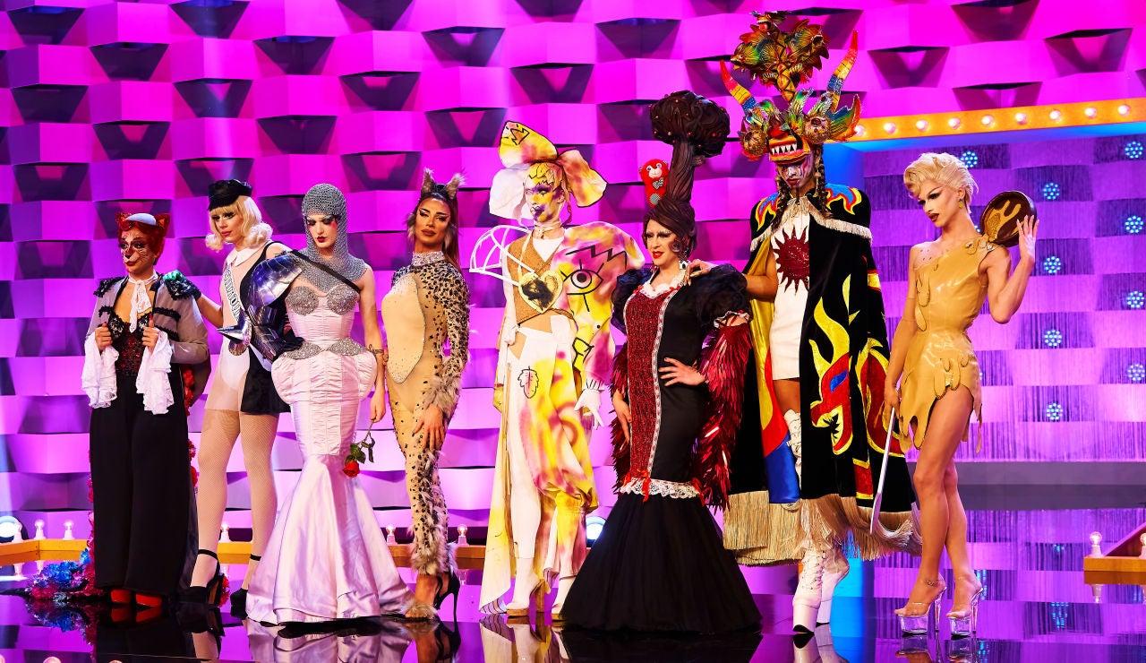 Las reinas de 'Drag Race España' han hecho honor a sus orígenes sobre la pasarela.