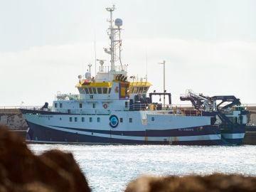 El buque oceanográfico 'Ángeles Alvariño'