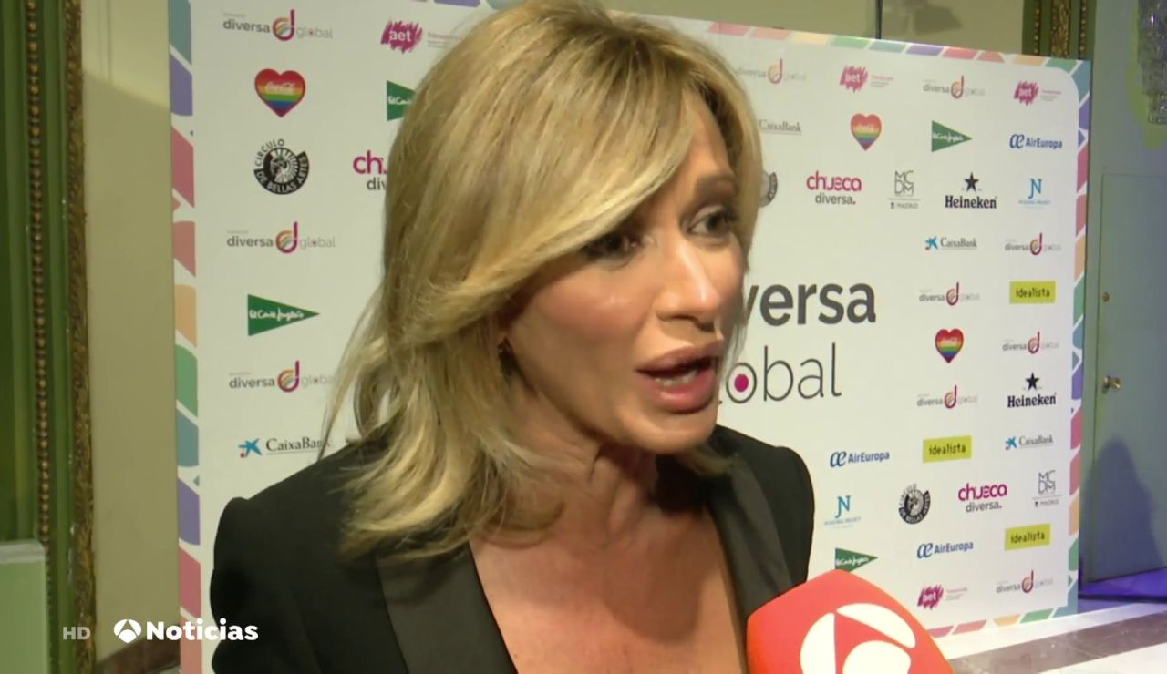 Susanna Griso galardonada en los premios Diversa Global