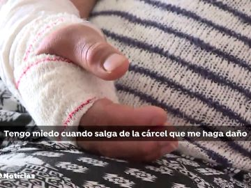 Un hombre ataca con un cuchillo en Basauri a su pareja embarazada