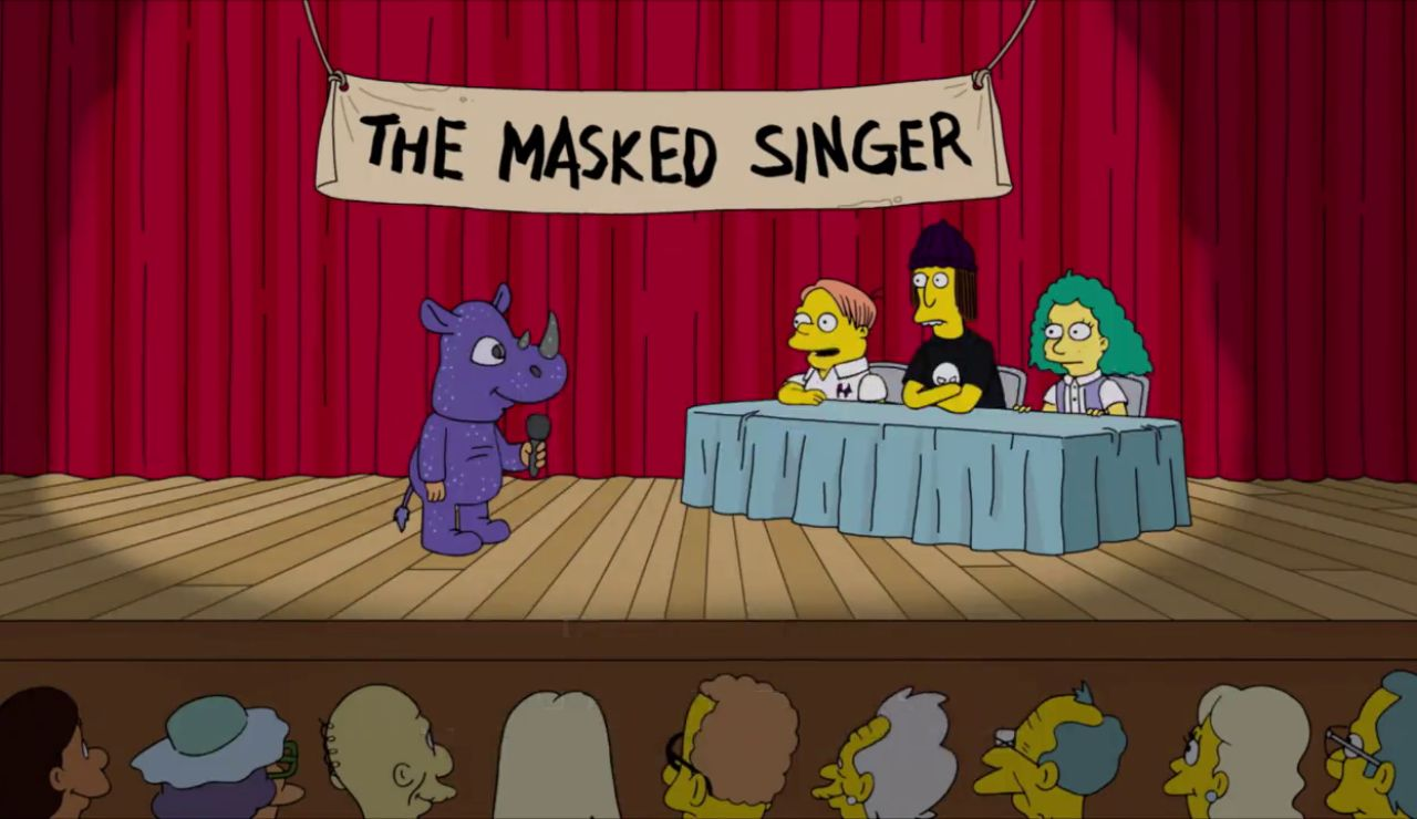 'Mask Singer' se cuela en el nuevo episodio de 'Los Simpson'