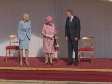 Encuentro Isabel II y Joe Biden
