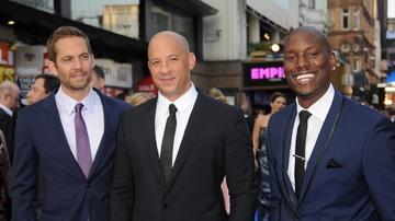 Paul Walker, Tyrese Gibson y Vin Diesel en la premiere de 'Fast and Furious'