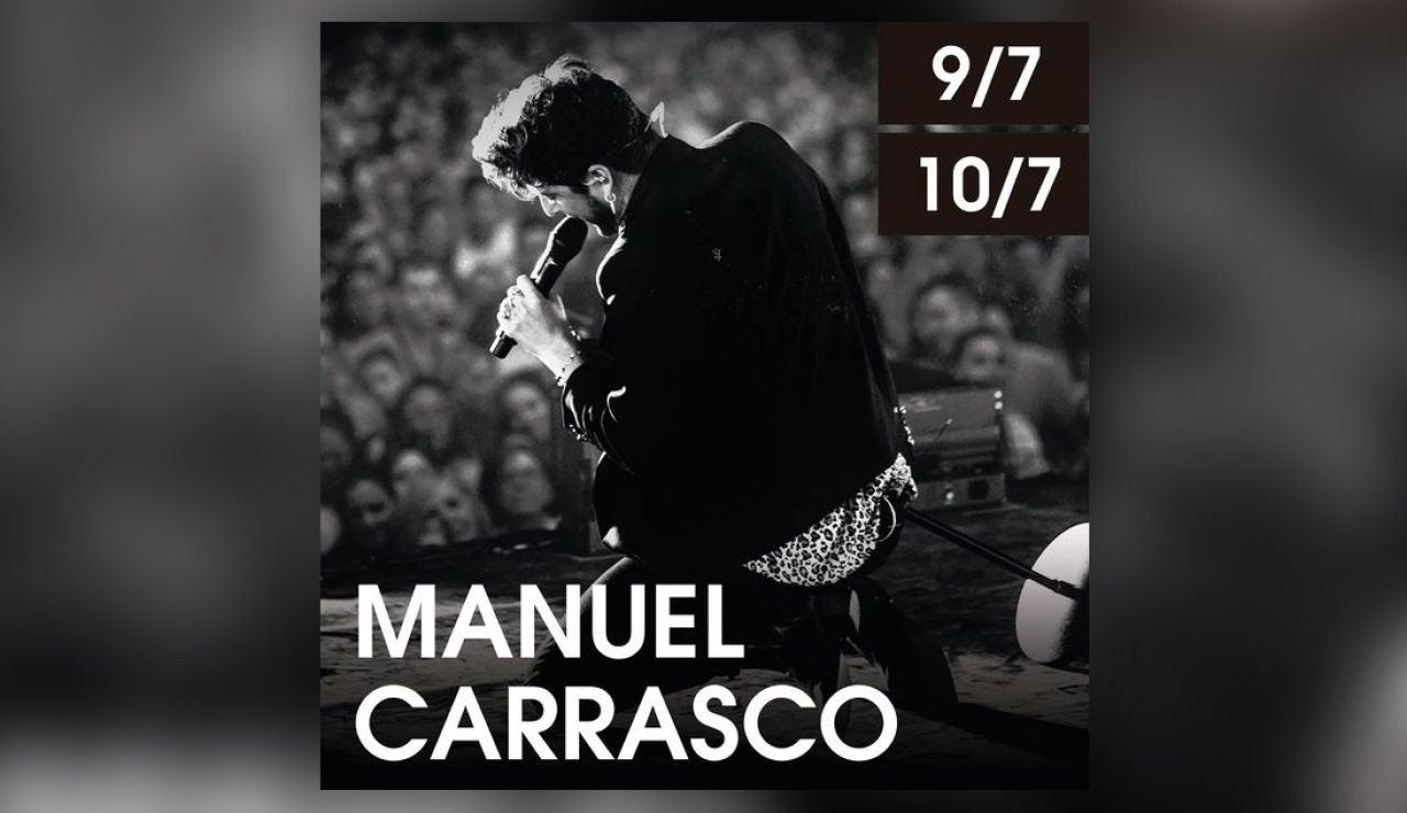 Manuel Carrasco en Starlite el viernes 9 de julio