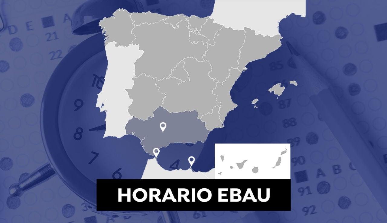 Horario de la Evau en Andalucía, Ceuta y Melilla y cuándo salen las notas de selectividad en 2021