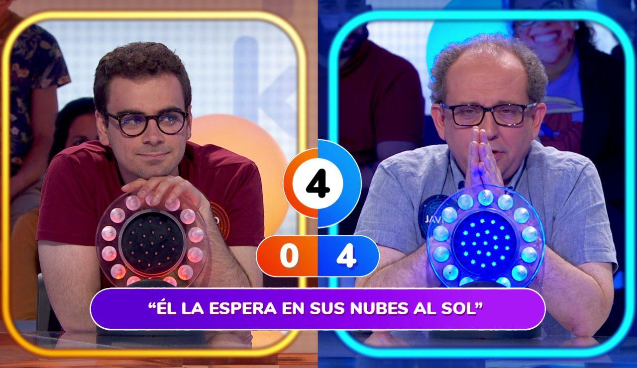 """Javier se lamenta en 'Pasapalabra': """"Cuando uno tiene la quincena extraviada…"""""""