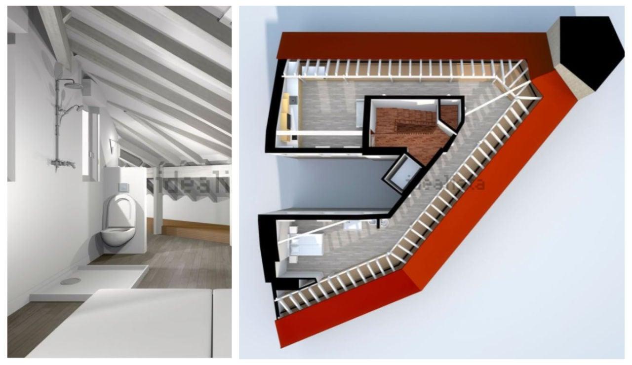 Anuncio de Idealista: Se vende piso en Bilbao de 120 metros cuadrados con sólo 45 metros útiles