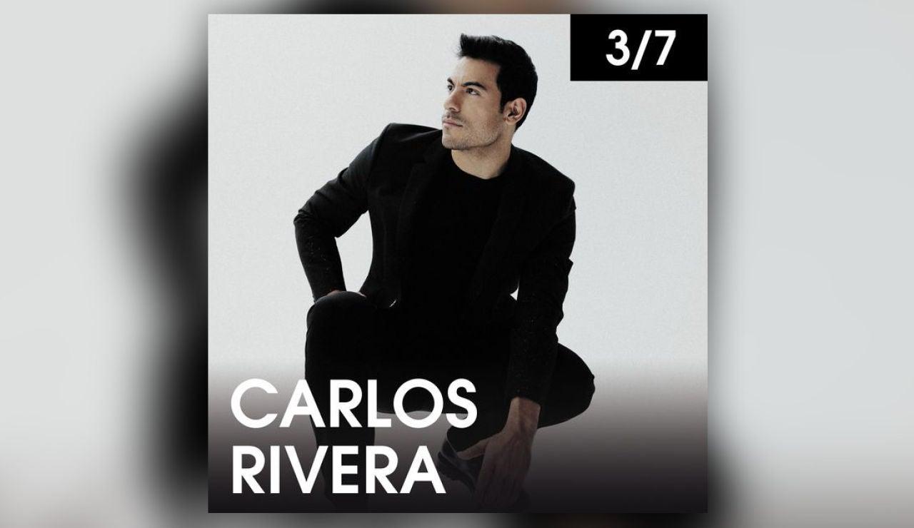 Carlos Rivera en Starlite el sábado 3 de julio