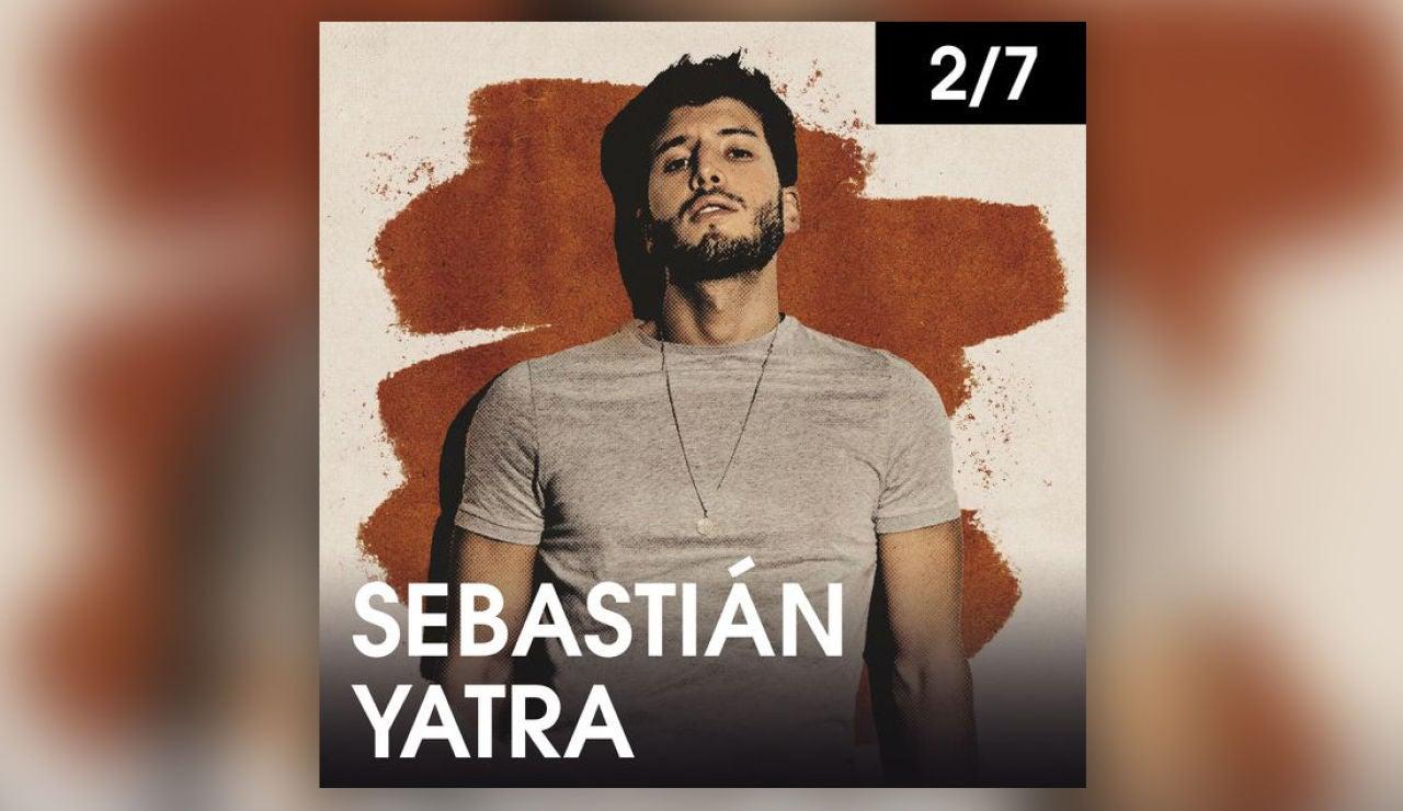Sebastián Yatra en Starlite el viernes 2 de julio
