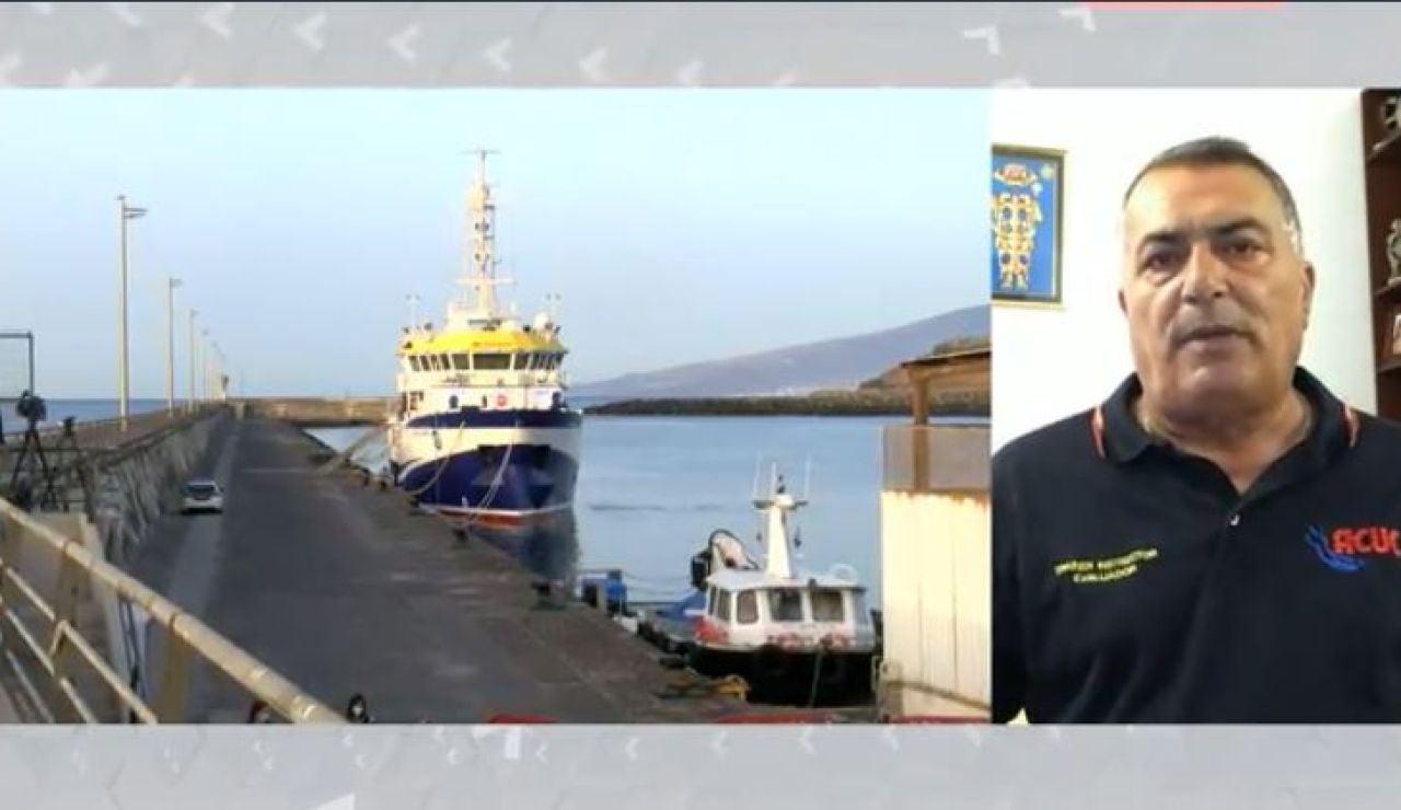 Juan Ortega Machín, exjefe operaciones subacuáticas de la Guardia Civil