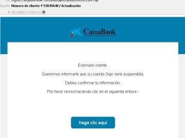 CaixaBank ciberestafa