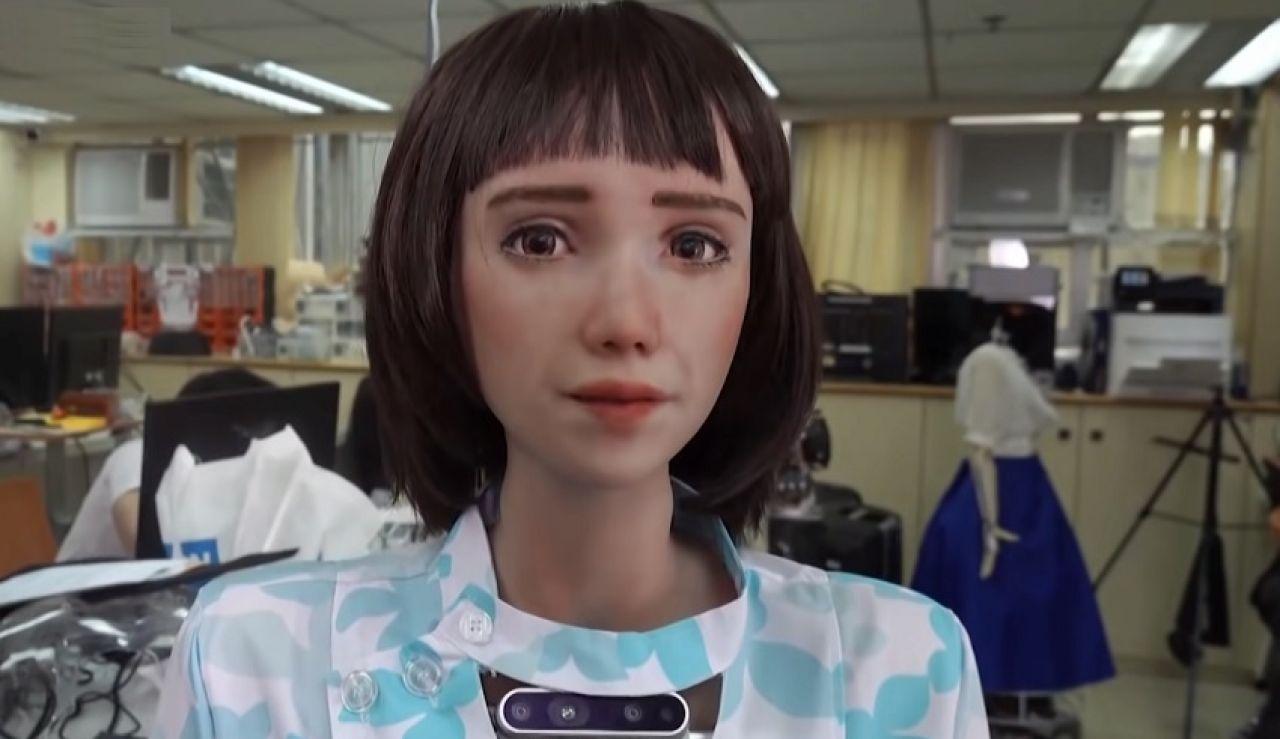 Grace, la primera enfermera robot para pacientes covid.