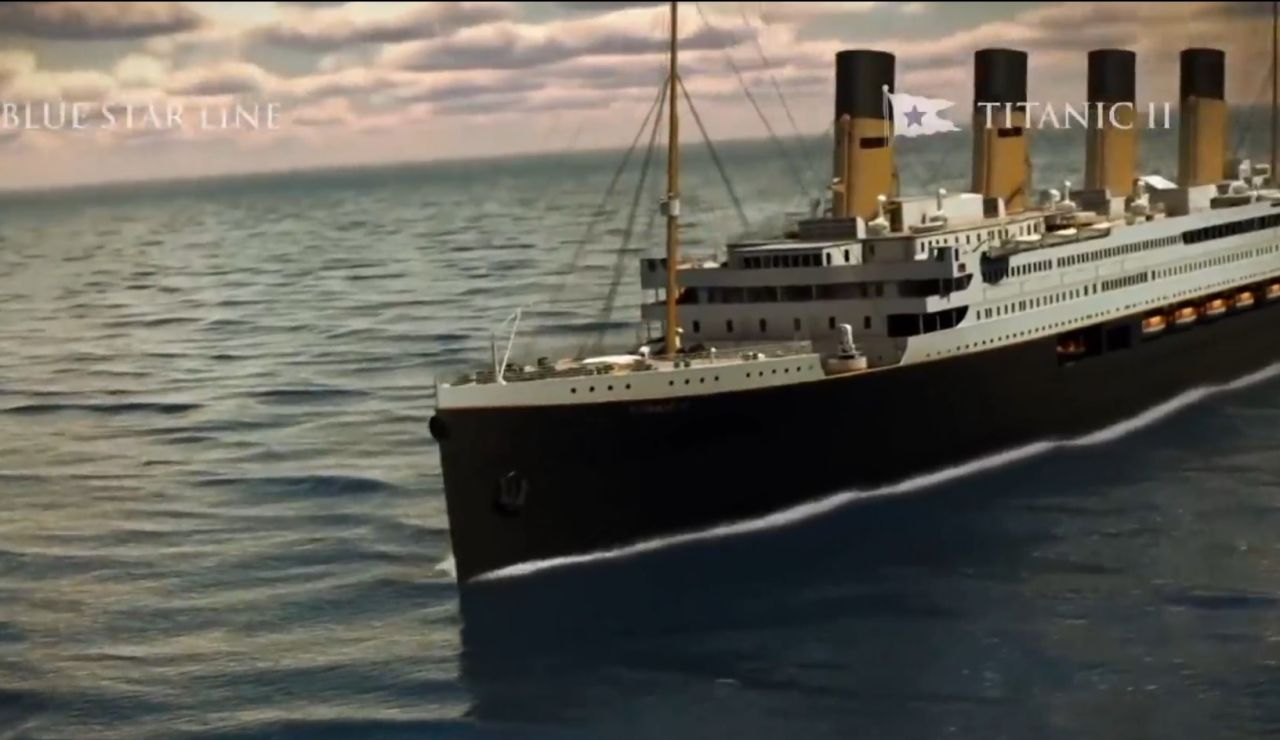 Recreación del Titanic II