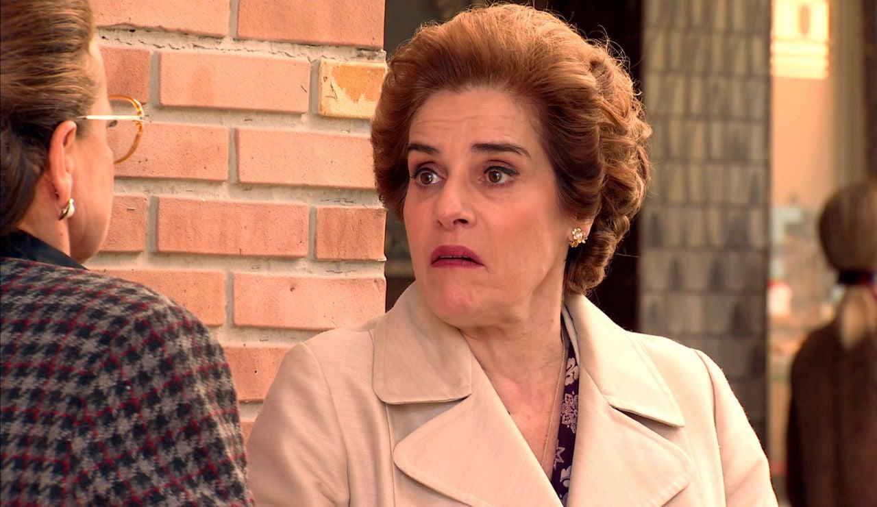 Benigna confirma sus sospechas: Doña Visi ha vuelto al barrio