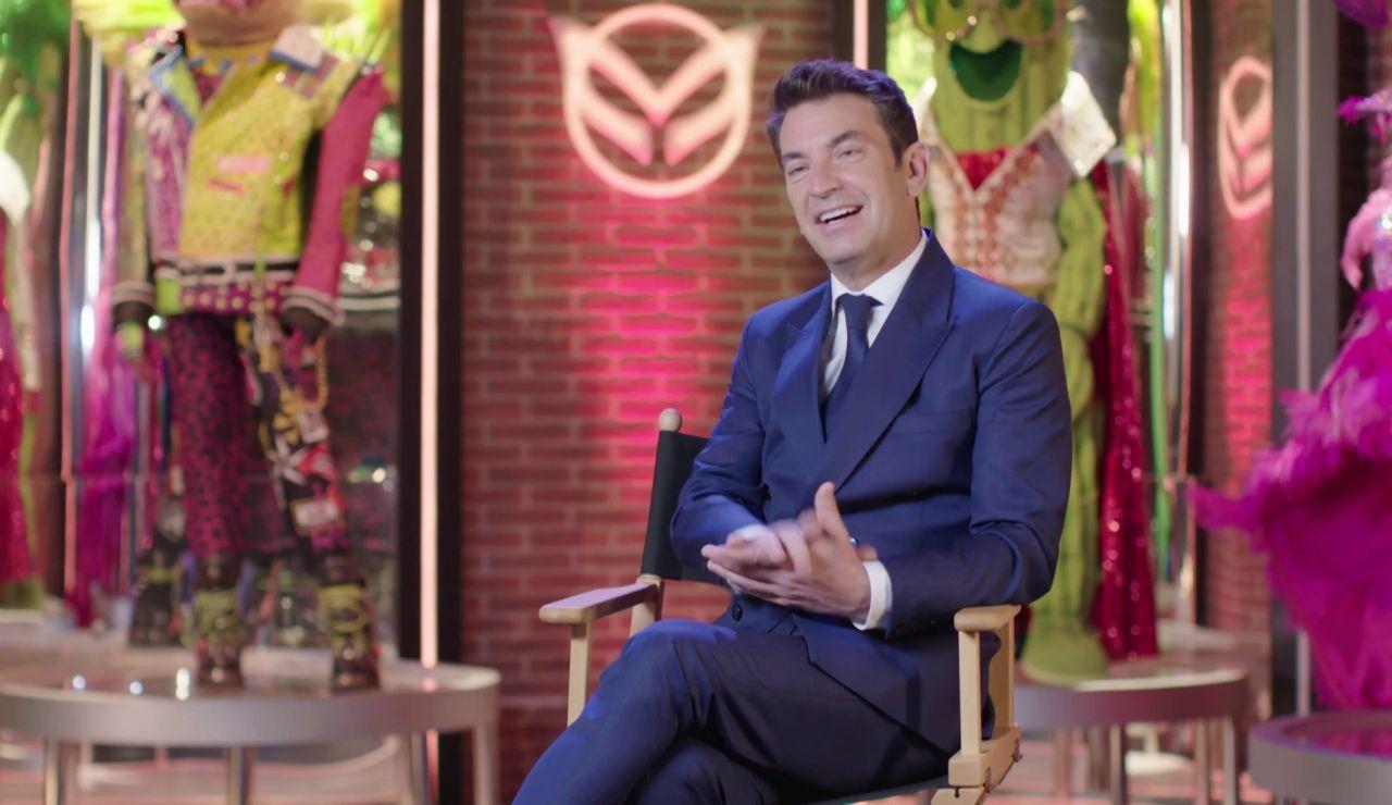 """Arturo Valls confiesa qué máscara es su favorita: """"Es muy juguetona y sabe lo que está haciendo"""""""