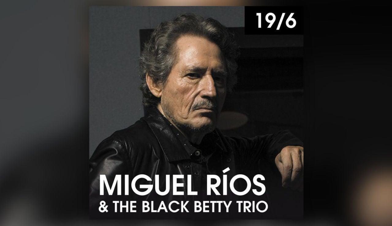 Miguel Ríos & The Black Betty Trio en Starlite el sábado 19 de junio