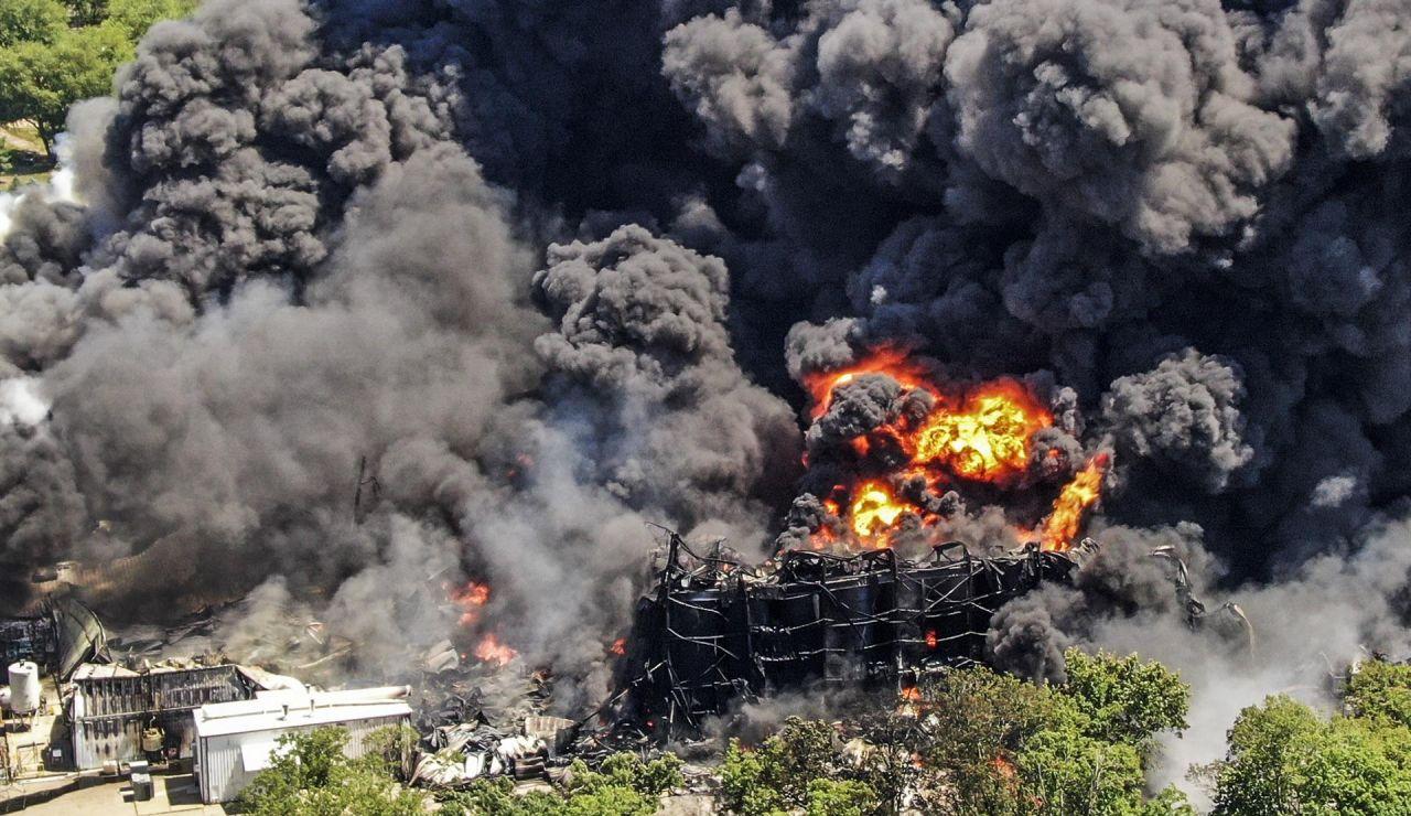 Explosión Estados Unidos
