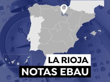 Notas Evau en La Rioja 2021: Consultar los resultados de selectividad
