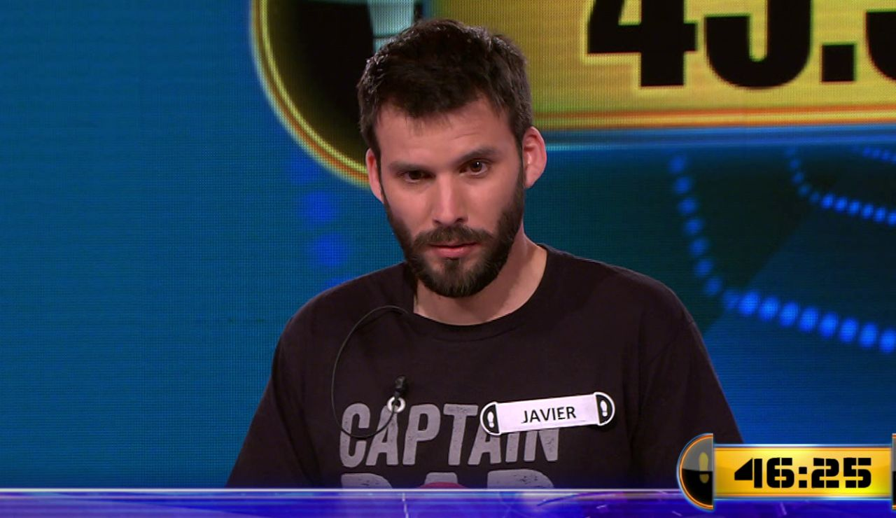 ¿Estreno por todo lo alto? Javier juega por 45.500 euros el Duelo Final de '¡Ahora caigo!'