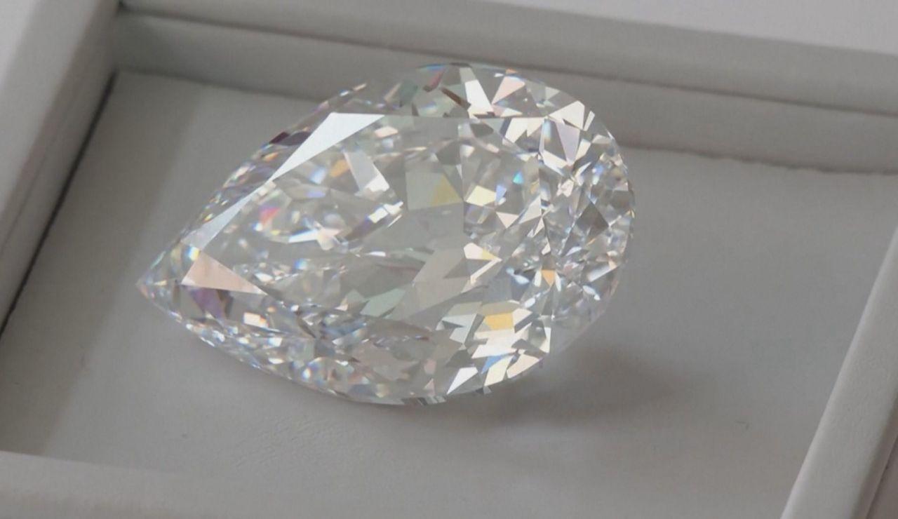 Diamante que subasta Sotheby's.