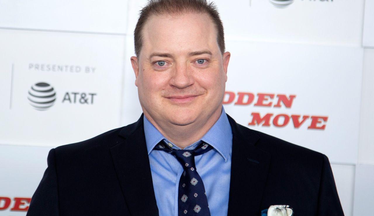 Este es el aspecto que luce Brendan Fraser, el que fuera George de la Jungla o Rick O'Connell en la trilogía de la momia
