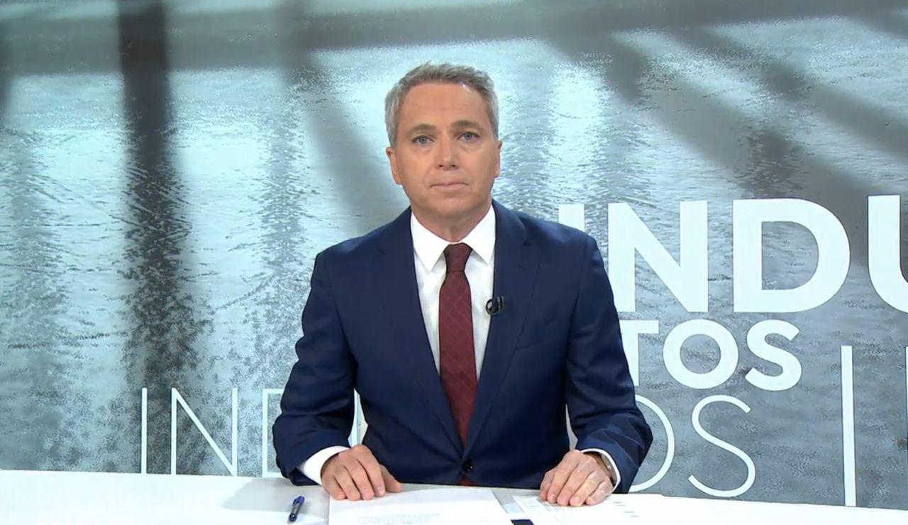 El presentador de Antena 3 Noticias Vicente Vallés