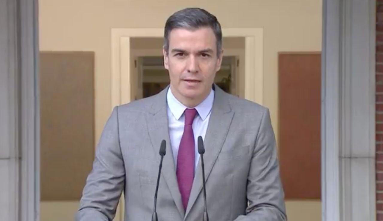 Pedro Sánchez anuncia los indultos