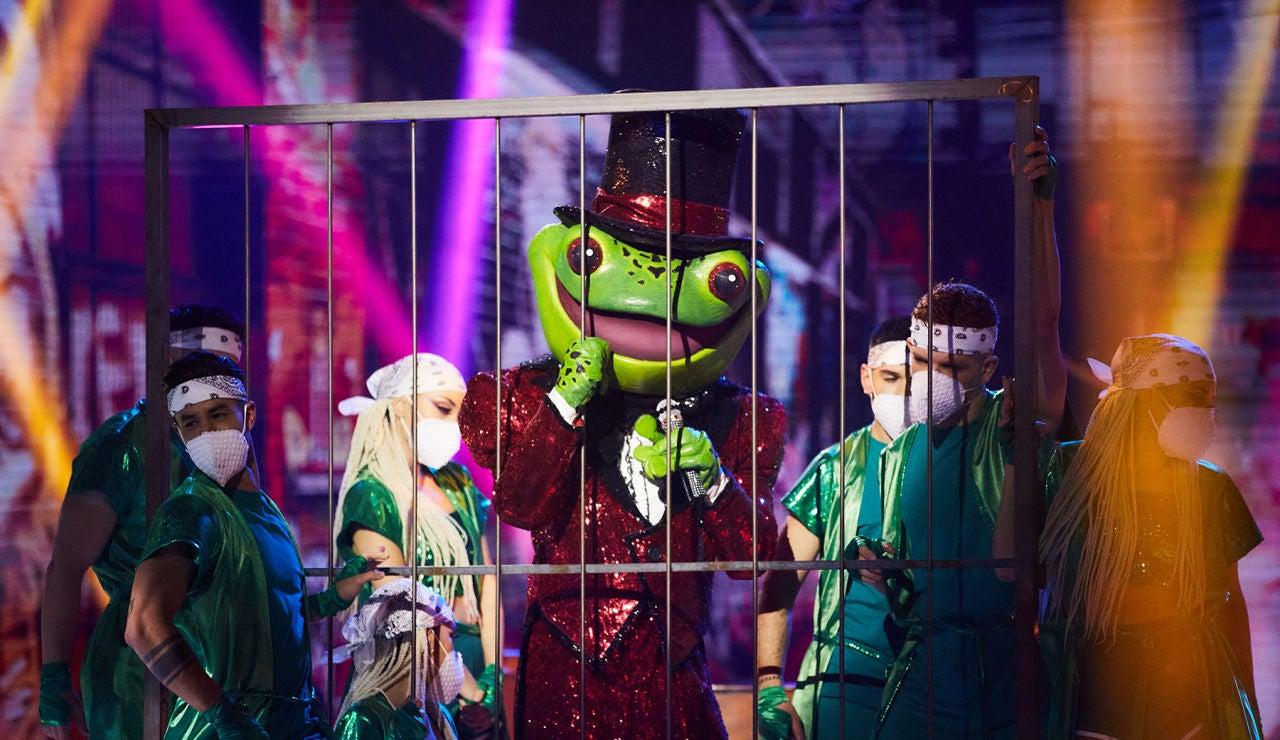 La Rana se mete a todos en el bote con 'Solo' en 'Mask Singer'