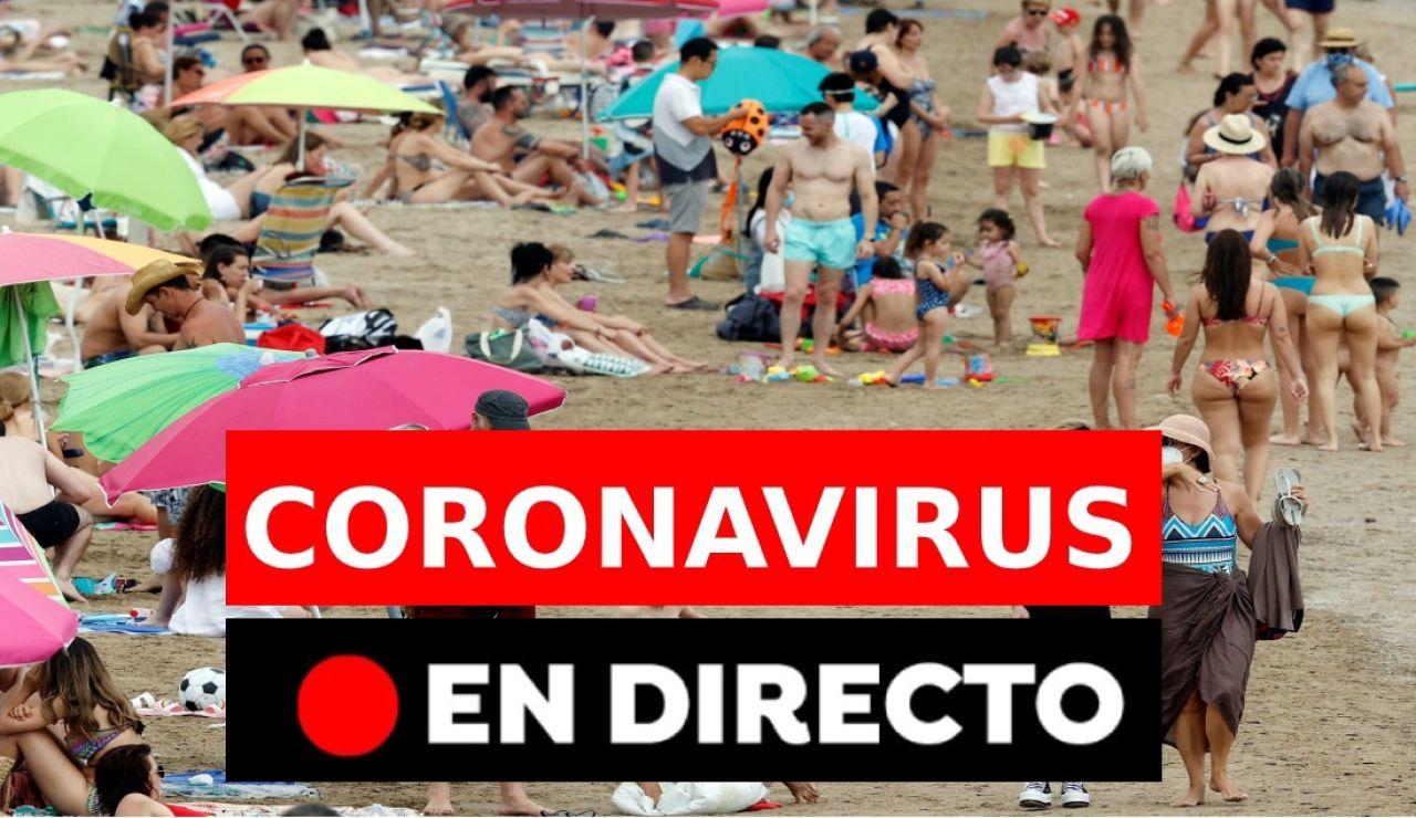 Coronavirus España hoy: últimos días de las mascarillas en exteriores, restricciones y vacunación, en directo
