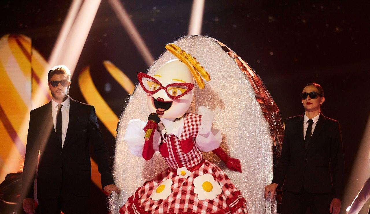 El Huevo se convierte en el rey de 'Mask Singer' con 'Kings & Queens'