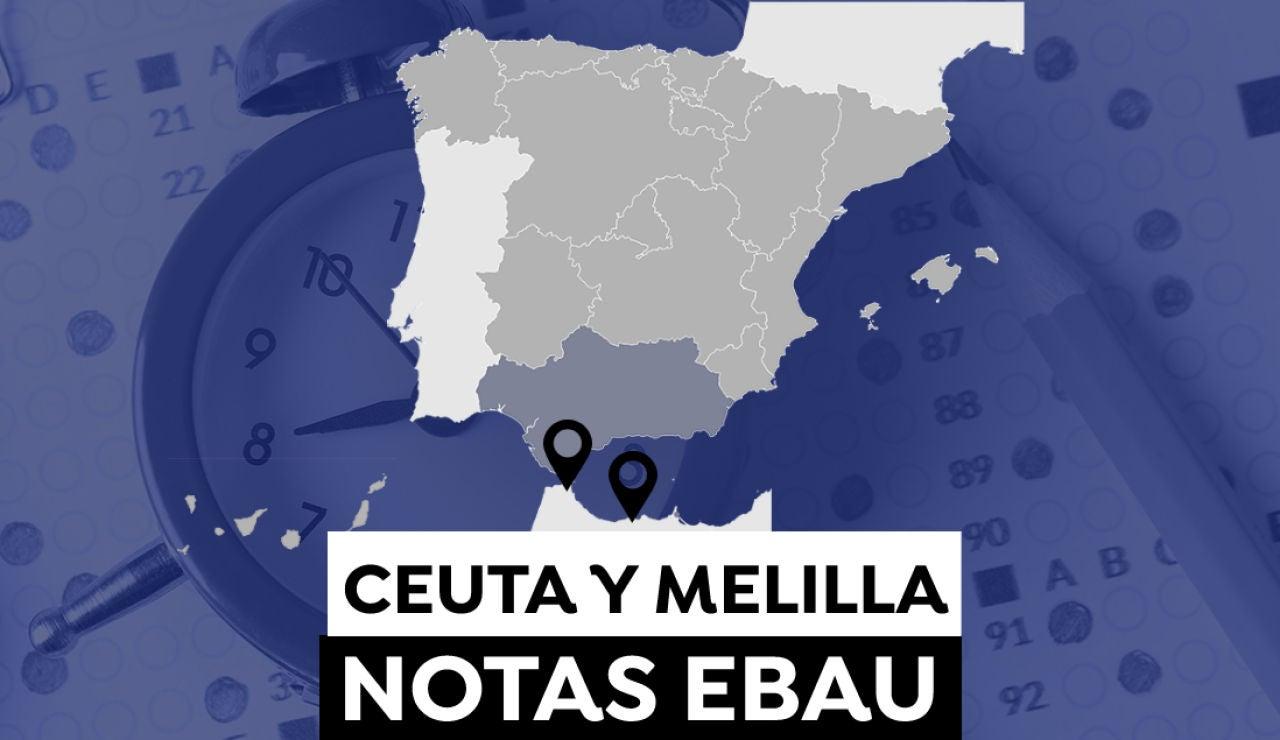Notas de la Evau en Ceuta y Melilla 2021: Consulta los resultados de la selectividad