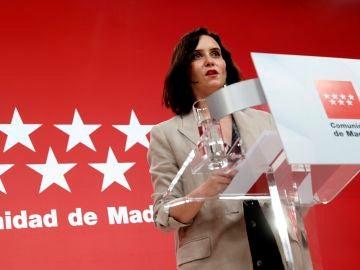 Isabel Díaz Ayuso sobre los indultos a los presos del procés