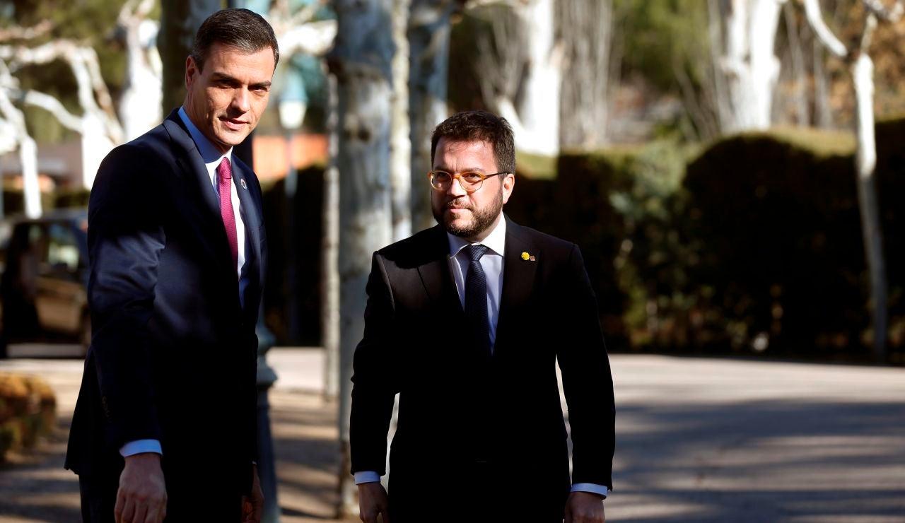 Pedro Sánchez y Pere Aragonès se reunirán en la Moncloa el próximo 29 de junio