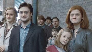 Los protagonistas de 'Harry Potter' en el epílogo