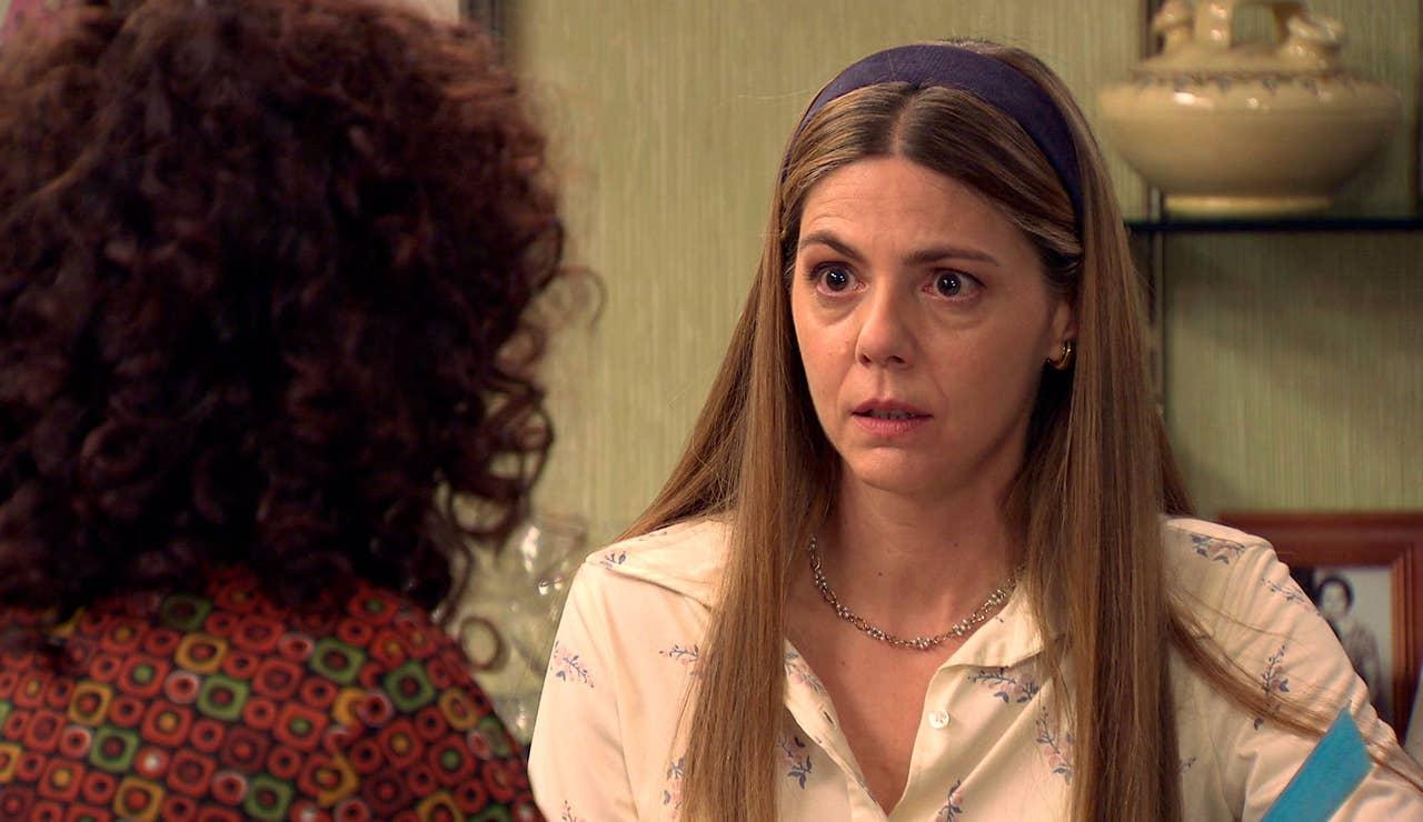 Maica compromete a Estefanía con Abel y descubre que fue una víctima más de Juan