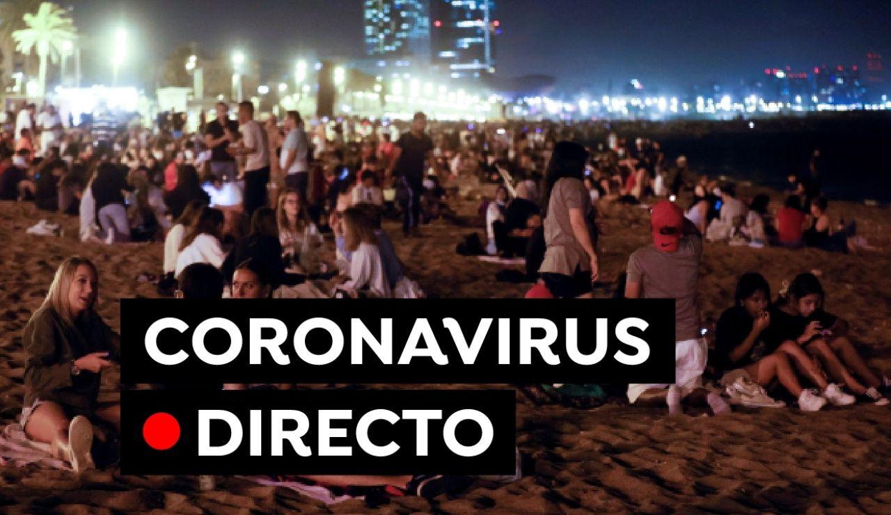 Coronavirus España: Última hora de la noche de San Juan, restricciones, variante delta y vacunas en directo