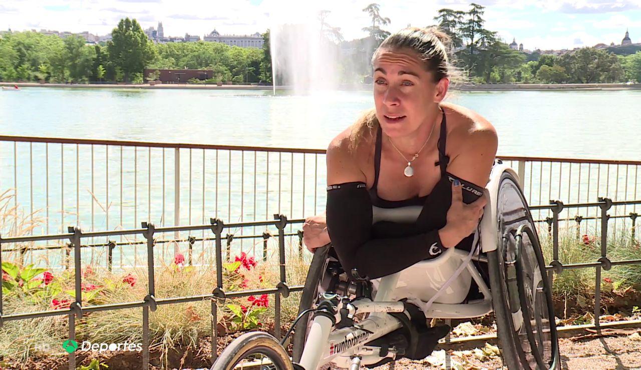 Carmen Giménez, la atleta paralímpica que acabó en una silla de ruedas después de que su pareja la lanzara por una ventana