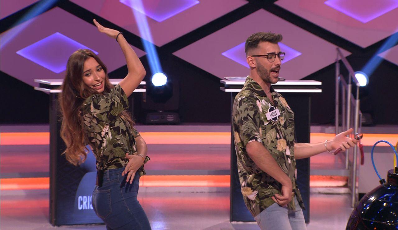 'Los chancletas', solos ante el peligro, se animan cantando su temazo en '¡Boom!'