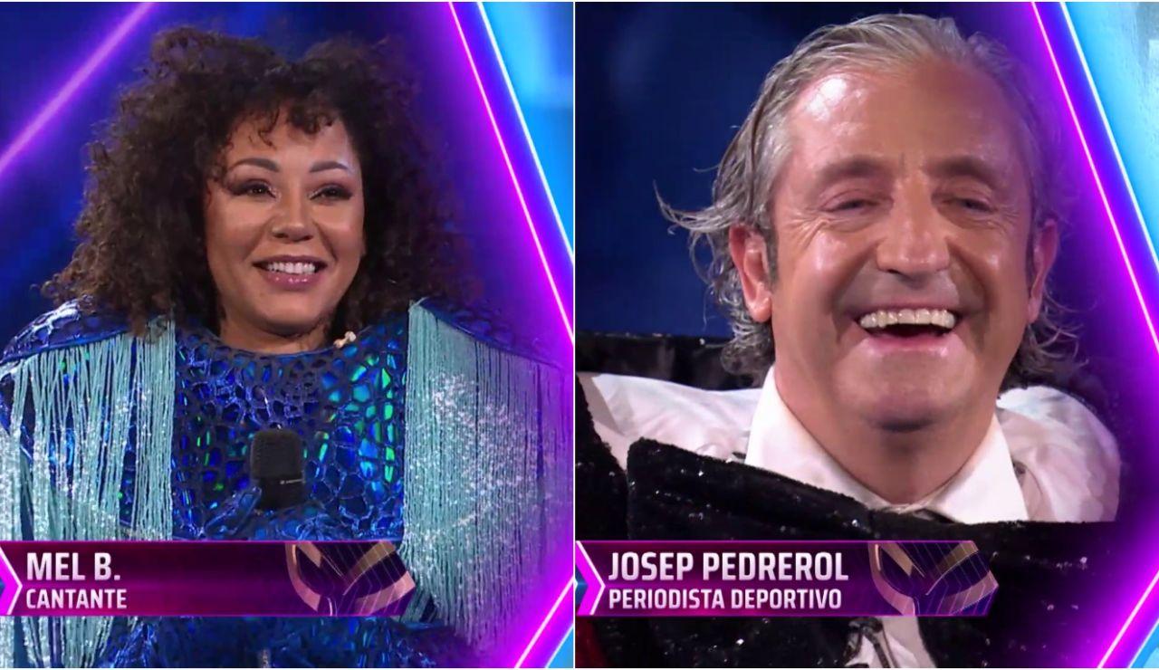 Arden las redes al descubrir a Pedrerol cantando junto a Mel B. en 'Mask Singer'