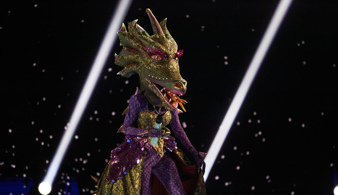 Dragona se atreve con 'Don't get me wrong' en el Duelo Final de 'Mask Singer'