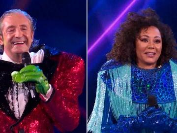 Mel B. y Josep Pedrerol en 'Mask Singer': la doble revelación de una noche mágica