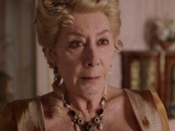 """Doña Mercedes se encara a Amelia tras saber la verdad sobre el hijo que espera: """"Impostora"""""""