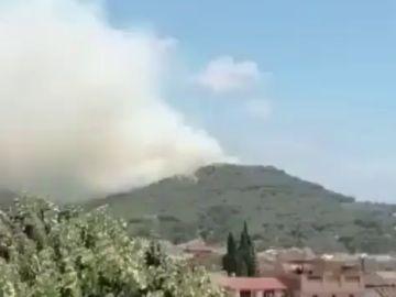 Un incendio en Sant Jaume de Traià, en Barcelona, ocasiona más de 200 llamadas al 112