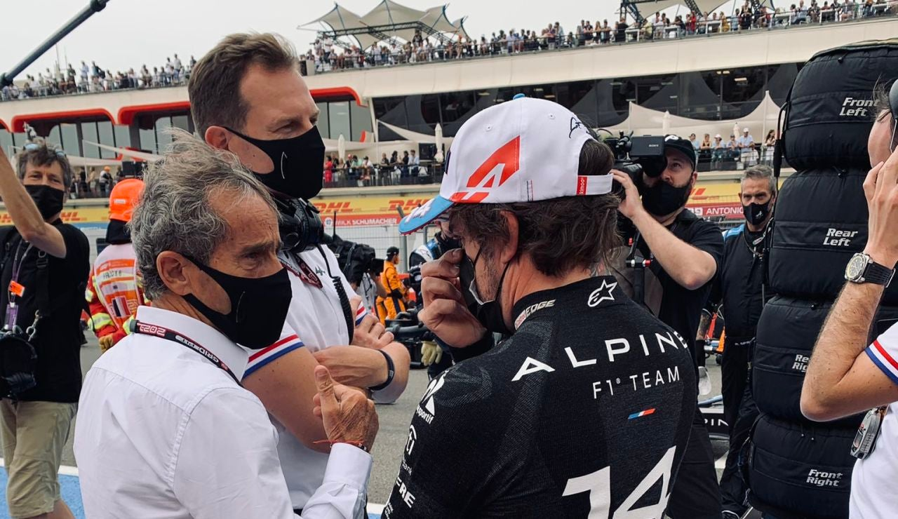"Alain Prost elogia a Fernando Alonso: ""Es una buena sorpresa"""