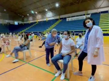 Vacunación en Ceuta con su nueva campaña.